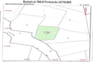 Plot for sale in El Cuchillo, Tinajo, Lanzarote.