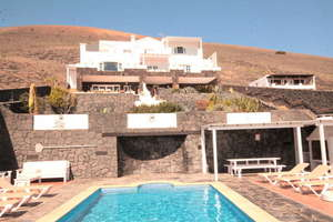 Villa for sale in La Asomada, Tías, Lanzarote.