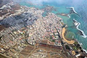 情节 出售 进入 San Francisco Javier, Arrecife, Lanzarote.