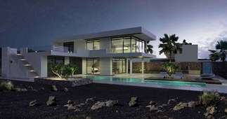 房子 出售 进入 Puerto Calero, Yaiza, Lanzarote.
