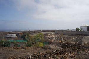 Urban plot for sale in El Cuchillo, Tinajo, Lanzarote.