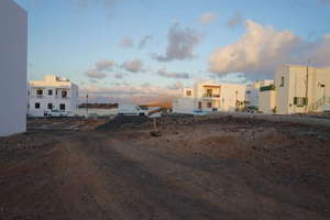 Urban plot for sale in La Santa, Tinajo, Lanzarote.