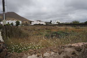 Urban plot for sale in Tiagua, Teguise, Lanzarote.