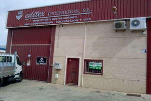 Nave industrial venta en Polígono el Nevero, Badajoz.