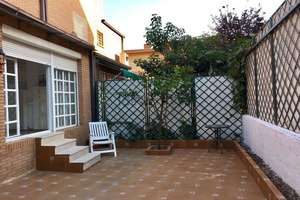Reihenhaus in Badajoz.