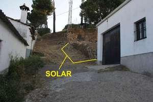 Urban plot for sale in Galaroza, Huelva.