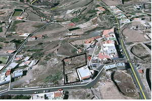 Urban plot for sale in Frontón, Moya, Las Palmas, Gran Canaria.