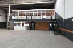 Industriehallen in Majoreras, Ingenio, Las Palmas, Gran Canaria.