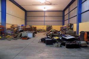 仓库 进入 Salinetas, Telde, Las Palmas, Gran Canaria.