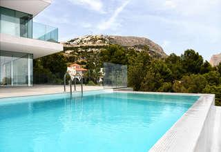 别墅 豪华 出售 进入 Altea la Vella, Alicante.
