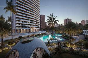 Апартаменты Продажа в Poniente, Benidorm, Alicante.