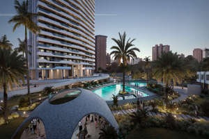 Apartment for sale in Poniente, Benidorm, Alicante.