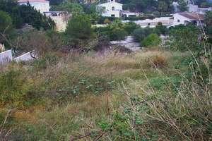 Plot for sale in Benissa, Alicante.