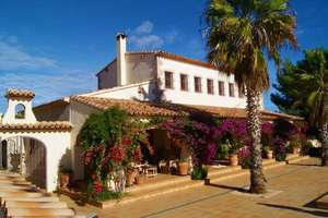 Casa de campo venta en Benissa, Alicante.
