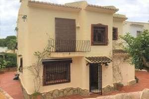 Chalet for sale in Moraira, Alicante.