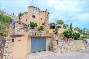 Villa for sale in Benissa, Alicante.