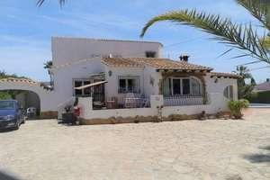 Chalet venta en Benissa, Alicante.