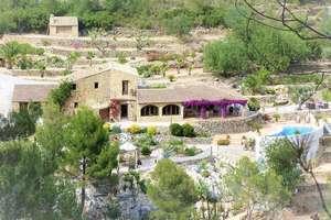 乡间别墅 豪华 出售 进入 Benissa, Alicante.