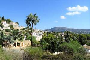 Plot for sale in Moraira, Alicante.
