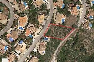 Parcela/Finca venta en Urbanización Montepego, Dénia, Alicante.
