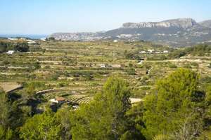 Landwirtschaftlichen Flächen zu verkaufen in Benissa, Alicante.