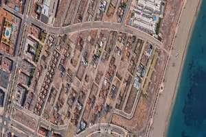 Terreno urbano venta en Las Salinas, Roquetas de Mar, Almería.