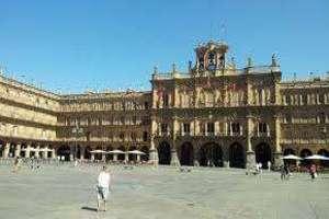 平 进入 Centro Histórico, Salamanca.