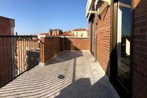 耳房 进入 Plaza de Madrid, Salamanca.
