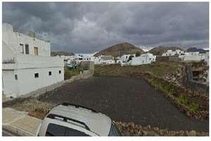 情节 出售 进入 Mancha Blanca, Tinajo, Lanzarote.