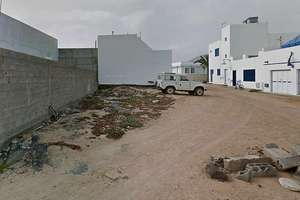 情节 出售 进入 La Graciosa, Teguise, Lanzarote.