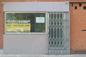 Commercial premise in Orcasitas, Usera, Madrid.
